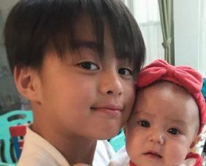 土屋アンナの息子と娘
