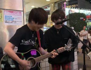 優里 hiro 路上ライブ